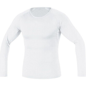 GORE WEAR Base Layer Maglia termica a maniche lunghe Uomo, bianco